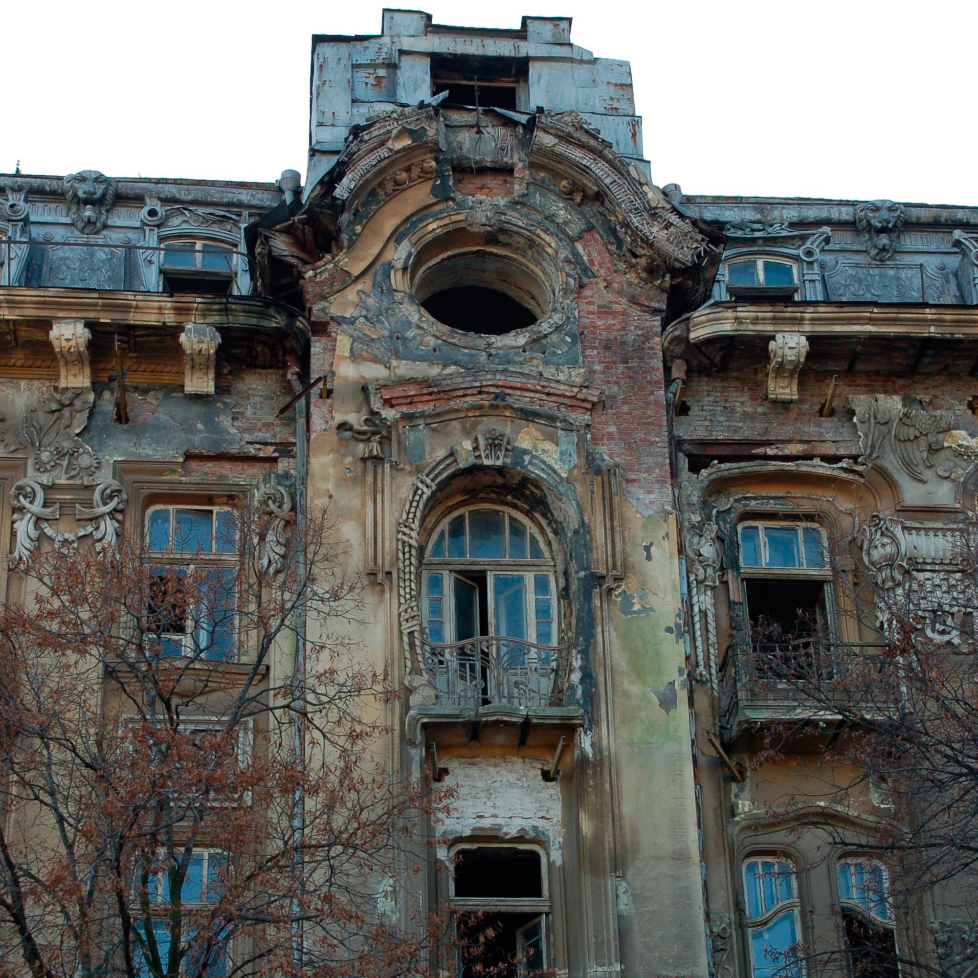 кабан нечаянно, заброшенные дома москва фото этом плане