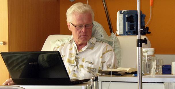 Борис Зудерманн в больнице