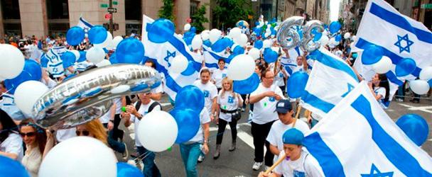 Парад Торжество Израиля в Нью-ЙОрке